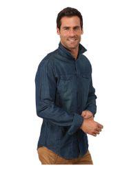 Calvin Klein Jeans | Blue Direct Dye Trucker for Men | Lyst