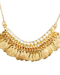H&M   Metallic Necklace With A Pendant   Lyst
