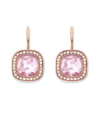 Thomas Sabo | Secret Of Cosmo Pink Rose Gold Earrings | Lyst
