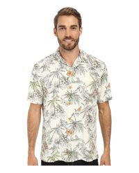 Tommy Bahama | Natural Lido Leisure Silk Camp Shirt (big & Tall) for Men | Lyst