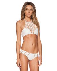 Acacia Swimwear - White Panama Bikini Top - Lyst