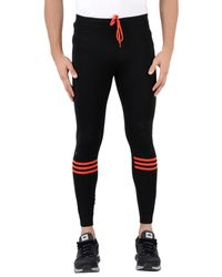 Adidas - Black Leggings for Men - Lyst