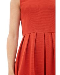 Forever 21 - Red Contemporary Ribbed Knit A-line Dress - Lyst