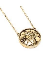 Pamela Love | Metallic Ceres Medallion In Brass | Lyst