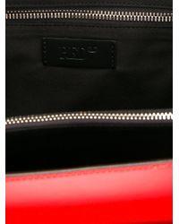 RED Valentino - Black Bead Embellished Shoulder Bag - Lyst