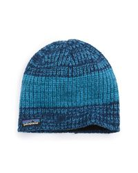Patagonia | Blue 'speedway' Beanie for Men | Lyst