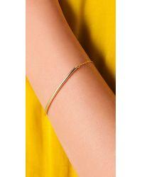 Kristen Elspeth | Metallic Arc Bracelet | Lyst