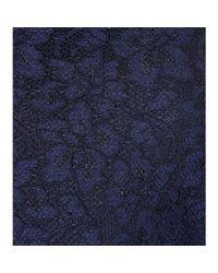 Diane von Furstenberg - Blue Zarita Lace Dress - Lyst