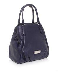 Marc Jacobs - Blue New Q Fran Tote Bag - Lyst