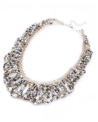 Nakamol | Multicolor Tempest Necklace-silver Mix | Lyst