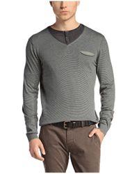 BOSS Orange | Green Sweater 'kelpen' In Cotton Blend for Men | Lyst