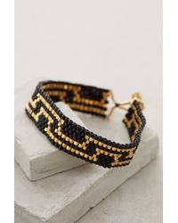 Bluma Project | Black Vendela Beaded Bracelet | Lyst