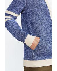 BDG | Blue Varsity Cardigan for Men | Lyst