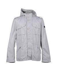 313 Tre Uno Tre - Gray Mid-length Jacket for Men - Lyst