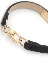Marc By Marc Jacobs | Black Supply Leather Bracelet | Lyst