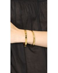 Gorjana | Metallic Bali Cuff Bracelet - Gold | Lyst