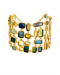 Pippa Small | Green Tourmaline and Yellow-gold Bracelet | Lyst