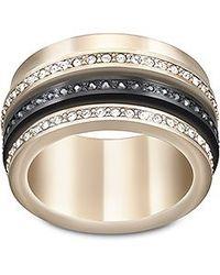 Swarovski | Metallic Video Ring | Lyst