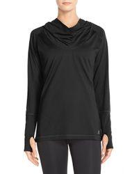 Adidas - Black Climalite Hooded Tunic - Lyst