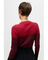 Altuzarra - Red Leila Knitted Sweater - Lyst