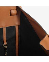 Loewe - Brown Hammock Laced Tan Bag - Lyst