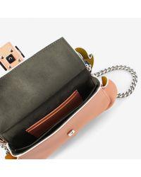 Fendi - Blue Double Micro Baguette Bag - Lyst