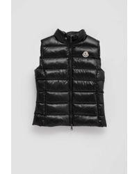 2d8656f87 Lyst - Moncler Ghany Padded Vest in Black for Men