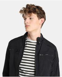 GREEN COAST - Black Jacket for Men - Lyst