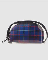 Tommy Hilfiger - Blue 3 In 1 Toiletry Bag Set With Logo - Lyst