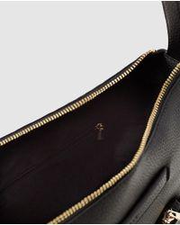 Esprit - Black Hobo Bag With Zip - Lyst