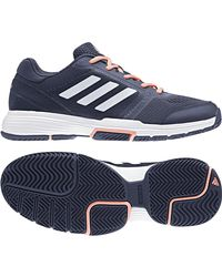 Adidas Blue Barricade Club Tennis/paddle Tennis Shoes for men
