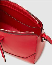Esprit - Wo Red Crossbody Bag With Zip - Lyst