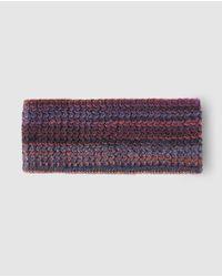 El Corte Inglés - Purple Multicoloured Knitted Hairband - Lyst