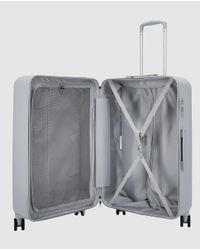 Gloria Ortiz - Gray Medium Grey 69l Hard-sided Suitcase for Men - Lyst