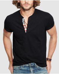 Denim & Supply Ralph Lauren - Ralph Lauren Denim & Supply Black Short-sleeve T-shirt for Men - Lyst