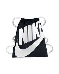 Nike - Blue Sportswear Heritage Gymsack - Lyst