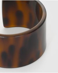Gloria Ortiz - Brown Open Tortoiseshell Bracelet - Lyst