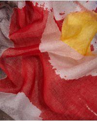 El Corte Inglés Multicoloured Floral Print Cotton Foulard