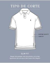 Polo Ralph Lauren - Green Short Sleeved Slim-fit Polo Shirt for Men - Lyst