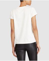 Polo Ralph Lauren - White Printed T-shirt - Lyst