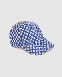 Jo & Mr. Joe - Wo Blue Printed Cap - Lyst