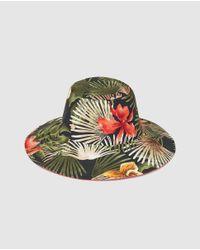 Gloria Ortiz - Multicolor Reversible Hat - Lyst