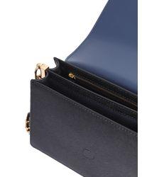 Tory Burch - Black Robinson Saffiano Leather Shoulder Bag - Lyst
