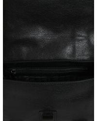 Proenza Schouler - Black Mini Ps1 Crossbody Leather Bag - Lyst