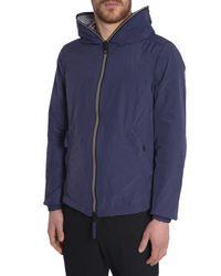 Duvetica - Blue Full Zip Pegaso Sports Jacket for Men - Lyst