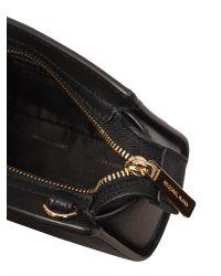 MICHAEL Michael Kors - Black Selma Mini Saffiano Leather Crossbody Bag - Lyst
