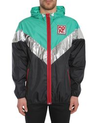 N°21 - Multicolor K-way In Technical Fabric With Embrodiered Patch for Men - Lyst
