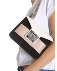 "Salar - ""mila Multicolor"" Leather Crossbody Bag - Lyst"