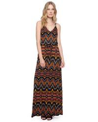 Ella Moss | Black Souk Maxi Dress | Lyst