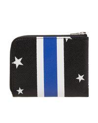 Uniform Experiment - Black Star Stripe Small Wallet - Lyst